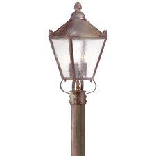 "Preston 3 Light 9.25"" Post Lantern"