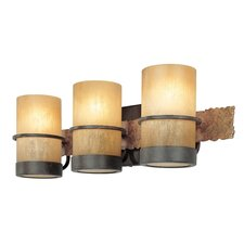 Bamboo 3 Light Vanity Light