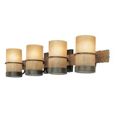 <strong>Troy Lighting</strong> Bamboo 4 Light Vanity Light