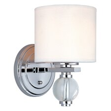 <strong>Troy Lighting</strong> Bentley 1 Light Wall Sconce