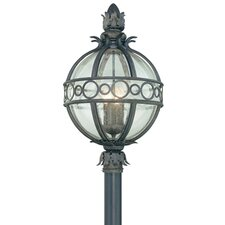 "Campanile 4 Light 16.63"" Post Lantern"