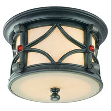 Woodridge 2 Light Flush Mount