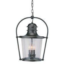 Guild Hall 3 Light Hanging Lantern