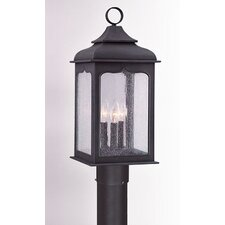 "Henry Street 1 Light 9"" Post Lantern"