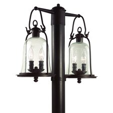 <strong>Troy Lighting</strong> Owings Mill 4 Light Post Lantern