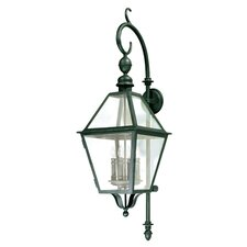 <strong>Troy Lighting</strong> Townsend 4 Light Wall Lantern
