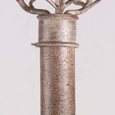 "84"" Wrought Iron Lantern Post"