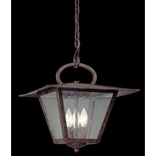 Potter 3 Light Outdoor Pendant