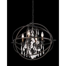 <strong>Troy Lighting</strong> Byron 4 Light Pendant