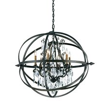 <strong>Troy Lighting</strong> Byron 6 Light Pendant