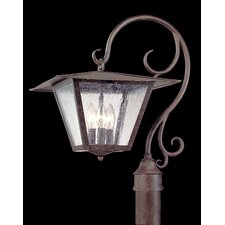 Potter 3 Light Outdoor Post Lantern