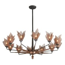 Copperfield 12 Light Chandelier