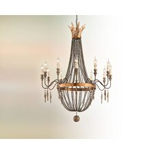 Delacroix 12 Light Chandelier