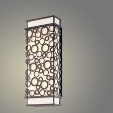Aqua 1 Light Outdoor Wall Lantern