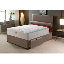 Vogue Memory Pocket New Empress Platform Divan Bed
