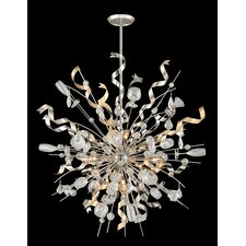 Party All Night 12 Light Crystal Pendant