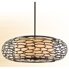 Cesto 10 Light Drum Pendant