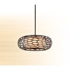 Cesto 3 Light Drum Pendant