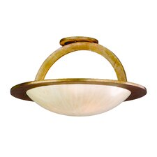 <strong>Corbett Lighting</strong> Cirque 3 Light Semi Flush Mount
