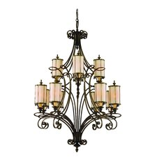 Montecito 12 Light Chandelier