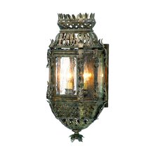 Montrachet 3 Light Wall Lantern