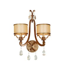 <strong>Corbett Lighting</strong> Roma 2 Light Wall Sconce