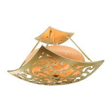 <strong>Corbett Lighting</strong> Philippe 3 Light Semi Flush Mount