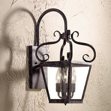 <strong>Corbett Lighting</strong> Vineyard Hill 3 Light Wall Lantern