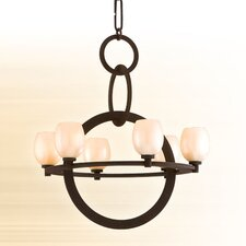 <strong>Corbett Lighting</strong> Cirque 6 Light Chandelier