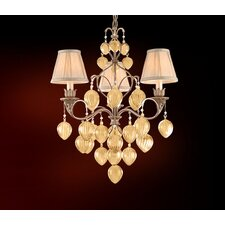 <strong>Corbett Lighting</strong> Venetian 3 Light Chandelier