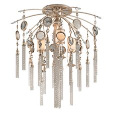 Bliss 4 Light Semi Flush Mount