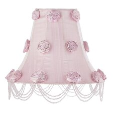 "12"" Rose Swag Silk Bell Shade"