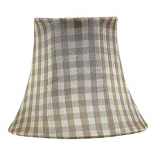 <strong>Jubilee Collection</strong> Chandelier Shade with Taupe Checks