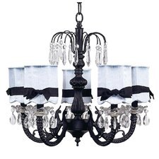 Chandelier with Optional Shade and Sash