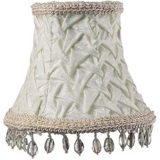 <strong>Jubilee Collection</strong> Smock Dangle Chandelier Shade in Ivory