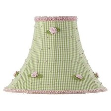 Rosebud Shade with Checks Design