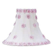 Petal Flower Shade in White/Pink