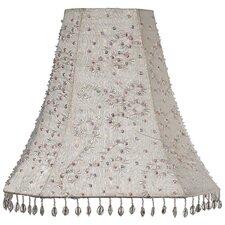 "12"" Dupioni Silk Bell Lamp Shade"