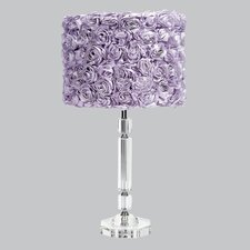 Slender Crystal Table Lamp