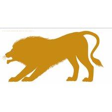 Seria della Natura Il Leone--Lion 1965 Silkscreen Graphic Art