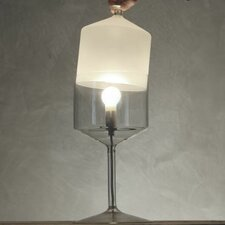 "Bonne Nuit 13.8"" H Table Lamp with Bowl Shade"