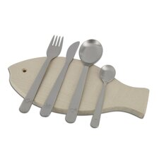 Mono Kids Petit 4 Piece Flatware Set by Peter Raacke