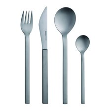 Mono-A Edition 50 Collection, 4-Piece Set in Brushed Titanium by Peter Raacke