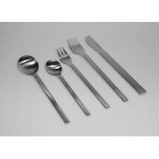 <strong>mono</strong> Mono-A 20 Piece Flatware Set with Short Blade Table Knife and Giftbox by Peter Raacke