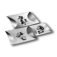 Mono Cimetric Square Trays (Set of 3) by Eva Eisler