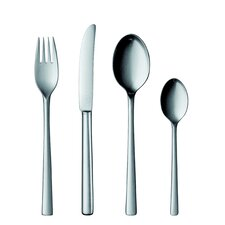 25 Collection Stainless Steel 20 Piece Flatware Set