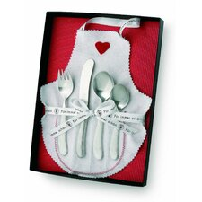 <strong>POTT</strong> Gift Ideas Bonito 99 Stainless Steel Child's Cultery Set inGift Box