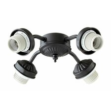 4 Light Branched Ceiling Fan Light Kit