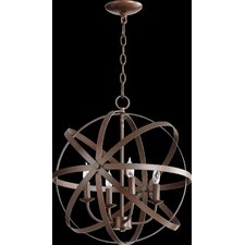 Celeste 4 Light Candle Chandelier