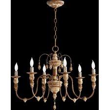 Salento 6 Light Candle Chandelier